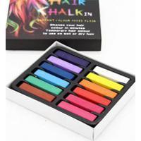 Conjunto Fashion Giz Pastel Para Cabelo - Multicolors