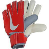 Luvas De Goleiro Nike Gk Match - Adulto - Vermelho/Cinza