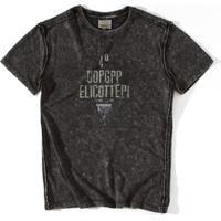 Camiseta Stained - Preto