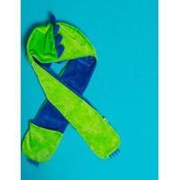 Gorro De Pelãºcia Dino- Verde & Azul Escuro- 23,5X24,Puket