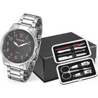 Kit Relógio Masculino Mondaine 53530G0Mvne2K