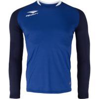 Camisa De Goleiro Manga Longa Penalty Delta - Masculina - Azul