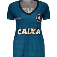 Camisa Topper Botafogo Treino Atleta 2017 Feminina - Feminino