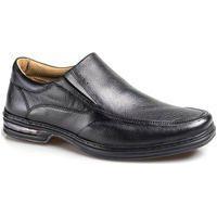 Sapato Couro Rafarillo Masculino Duo Air Conforto Dia A Dia Preto