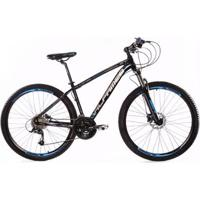 Bicicleta Aro 29 Alfameq Zt Freio A Disco Suspensão Com Trava 24 Marchas Câmbios Shimano - Unissex
