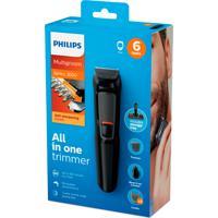Aparador De Pelos Philips Multigroom Series 3000 All In One Trimmer Mg3711/15