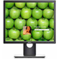 Monitor Professional Led Ips 19Quot; Quadrado Dell P1917S Preto
