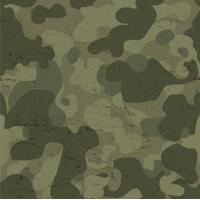 Papel De Parede Adesivo Camuflagem Militar (0,58M X 2,50M)