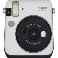 Câmera Fujifilm Instax Mini 70 Branca - Unissex