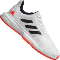 Tênis Adidas Courtjam Bounce - Masculino - Branco/Azul Esc