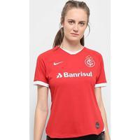 Camisa Internacional I 19/20 S/Nº Torcedor Nike Feminina - Feminino