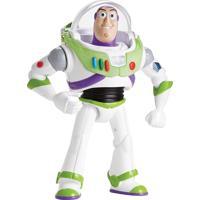 Boneco Toy Story Buzz Som Branco/Verde
