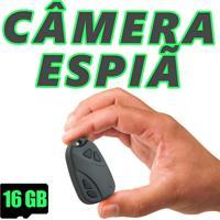 Câmera Espiã Em Controle Falso Detetive + 16Gb
