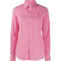 Polo Ralph Lauren Striped Slim Fit Shirt - Vermelho