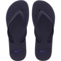 Chinelo Nike Solarsoft Thong Ii - Feminino - Azul Esc/Azul