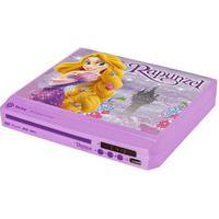 Dvd Player Compacto - Rapunzel - Tectoy