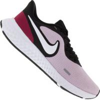 Tênis Nike Revolution 5 - Feminino - Rosa Cla/Preto