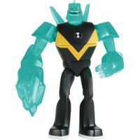 Mini Figura Articulada 10 Cm - Ben 10 - Diamondhead - Sunny - Masculino-Incolor