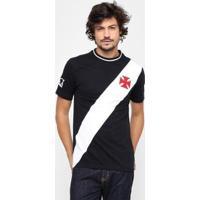 Camiseta Vasco Recorte Masculina - Masculino