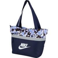Bolsa Nike Ya Tanjun Tote Aop - Feminina - Azul Escuro