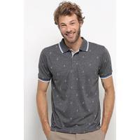 Camisa Polo Broken Rules Masculina - Masculino-Mescla