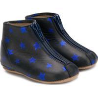Pépé Kids Star Print Boots - Preto
