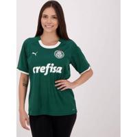 Camisa Puma Palmeiras I 2019 Feminina - Feminino