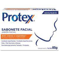Sabonete Em Barra Protex Anti Cravos E Espinhas Facial 85G