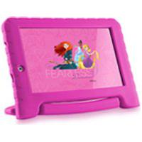 Tablet Multilaser Disney Princesas Plus 16Gb Tela 7 Pol. Quad Core Dual Camera Rosa- Nb308