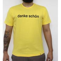 Danke - Camiseta Clássica Masculina