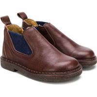 Pépé Kids Chelsea Ankle Boots - Marrom
