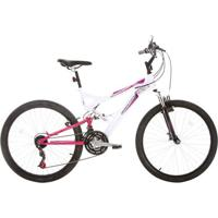 Bicicleta Houston Vivid, Aro 26, 21 Marchas, V-Brake, Quadro Aço Carbono - Vv26P