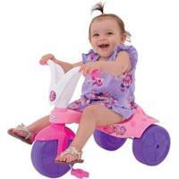 Triciclo Infantil - Unissex-Rosa