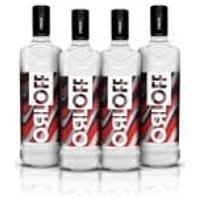 Kit Vodka Orloff 1L - 4 Unidades
