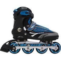 Patins Roller Bel Sports Inline B Future 7000 Tam 37 Azul