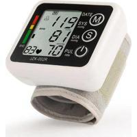 Medidor Dagg Eletrônico De Pulso Pressão Arterial Automático Display Branco