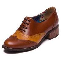 Sapato Oxford Feminino - Jabota / Tamarindo - 3015