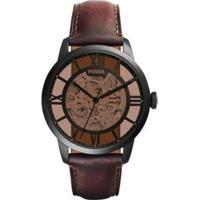 Relógio Fossil Townsman Feminino - Feminino-Preto