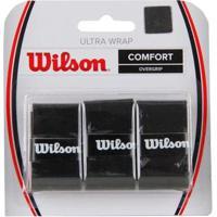 Overgrip Wilson Ultra Wrap Preto - Unissex