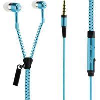 Fone De Ouvido Zipper Azul - Lvate