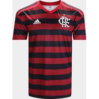 Camisa Flamengo I 19/20 S/N° Torcedor Adidas Masculina - Masculino