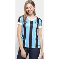 Camisa Grêmio I 19/20 S/N° Torcedor Umbro Feminino - Feminino