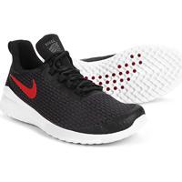 Tênis Nike Renew Rival Masculino - Masculino-Preto+Vermelho