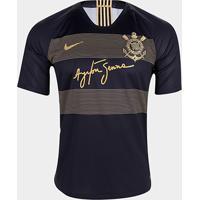 f9b6398143 Netshoes; Camisa Corinthians Iii 2018 S/N° - Jogador Nike Masculino -  Masculino