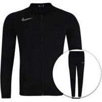 Agasalho Nike Dry Academy Track Suit K2 - Masculino - Preto/Branco
