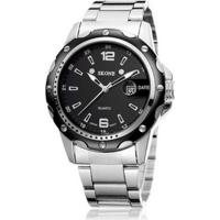 Relógio Skone Analogico Casual 7147Bg