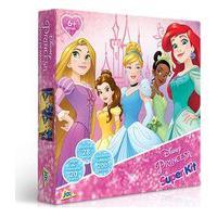 Super Kit Princesas - Quebra-Cabeça, Jogo Da Memória E Dominó - Toyster Toys2354