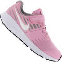 Tênis Nike Star Runner Feminino - Infantil - Rosa/Cinza