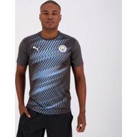 Camisa Puma Manchester City Stadium League - Masculino-Cinza