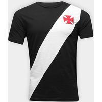 Camiseta Vasco Da Gama Recorte Masculina - Masculino